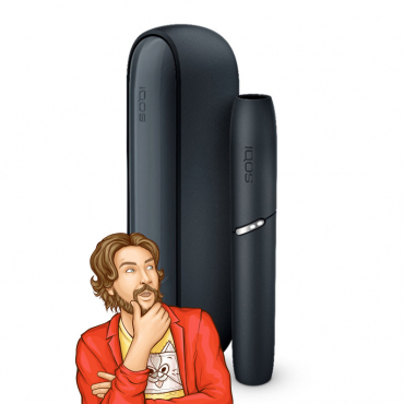 IQOS 3 DUO Kit Black from Kris