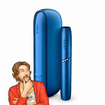 IQOS 3 DUO Kit Stellar Blue from Kris