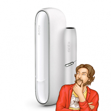 IQOS 3 DUO Kit White from Kris